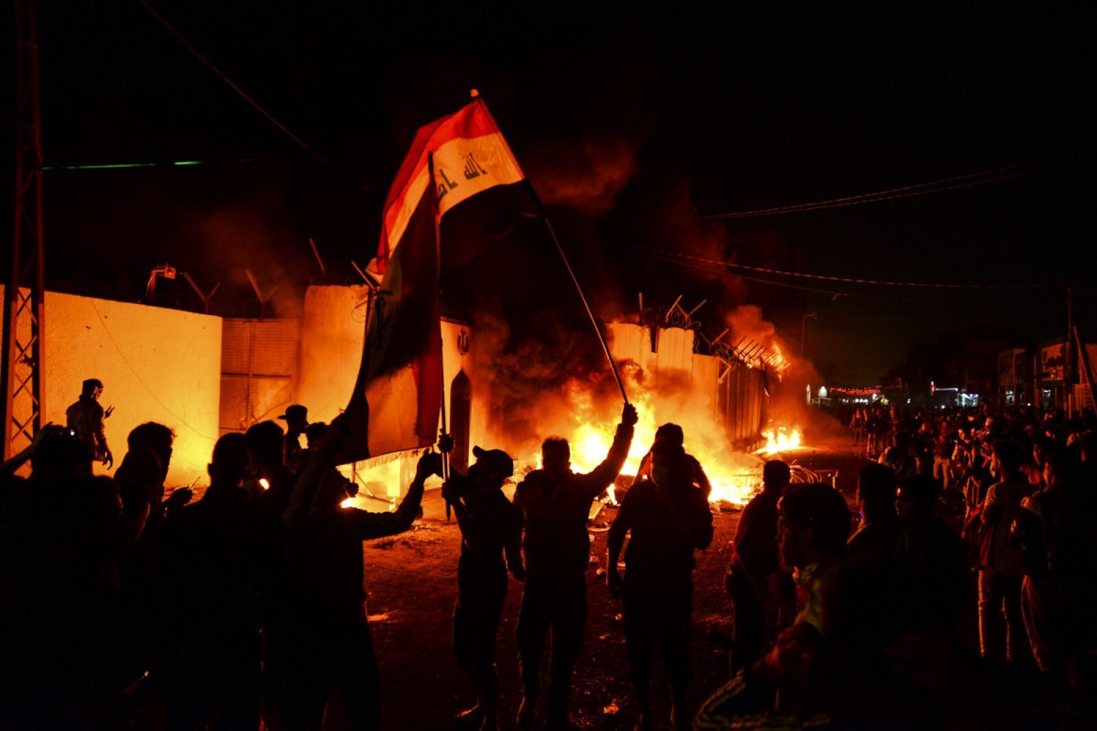 IRAQ-POLITICS-PROTESTS-IRAN