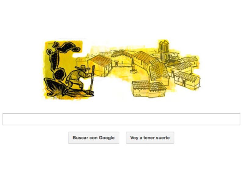 El escritor mexicano de &#39El llano en llamas&#39 o &#39Diles que no me maten&#39 cumpliría este miércoles 95 años; por lo mismo, el buscador lo celebra con un doodle.