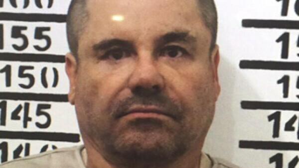Joaquín 'El Chapo' Guzmán enfrenta numerosos cargos en Estados Unidos.