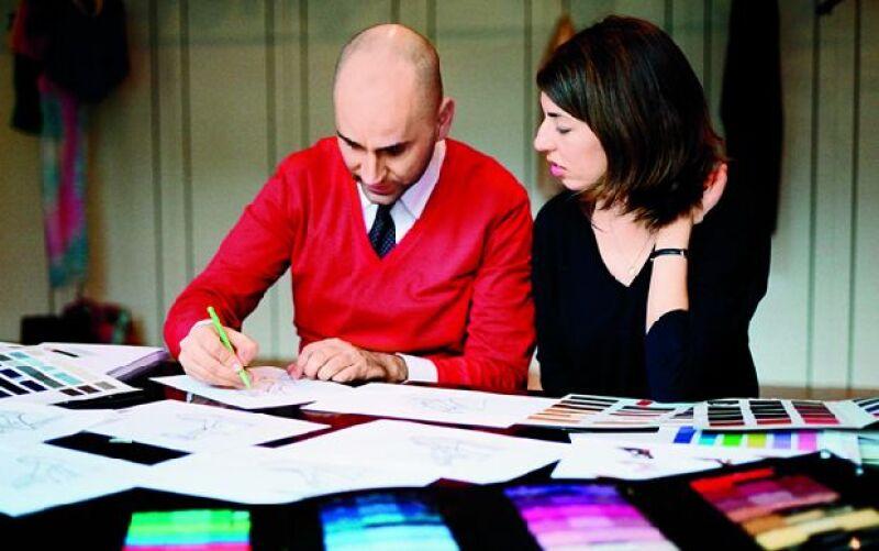 Luego de posar para la campaña 2008 de la firma, la directora de cine colaboró en la creación de una línea inspirada en su estilo personal.