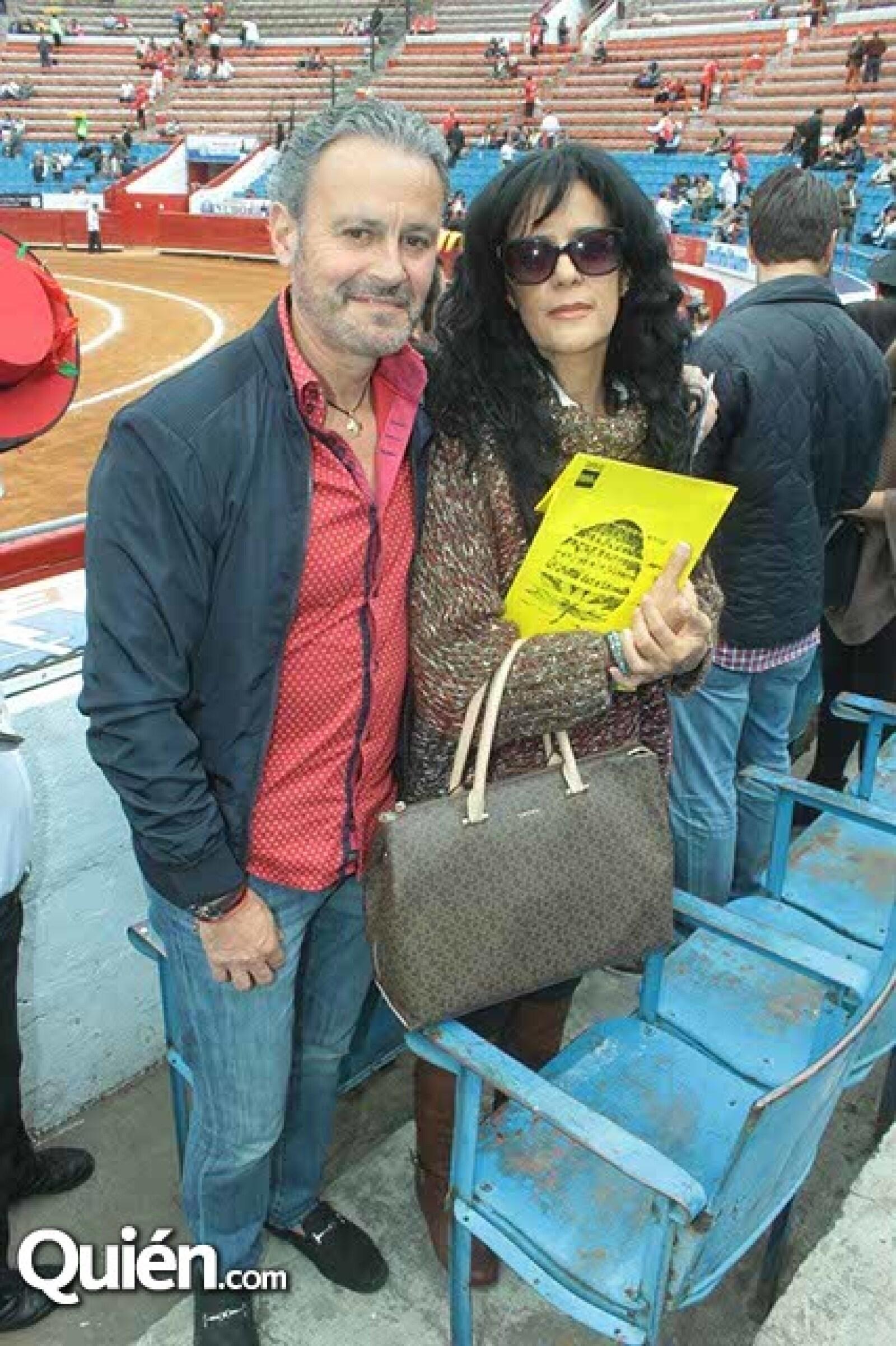 Gonzalo y Verónica Rivero-Borrell