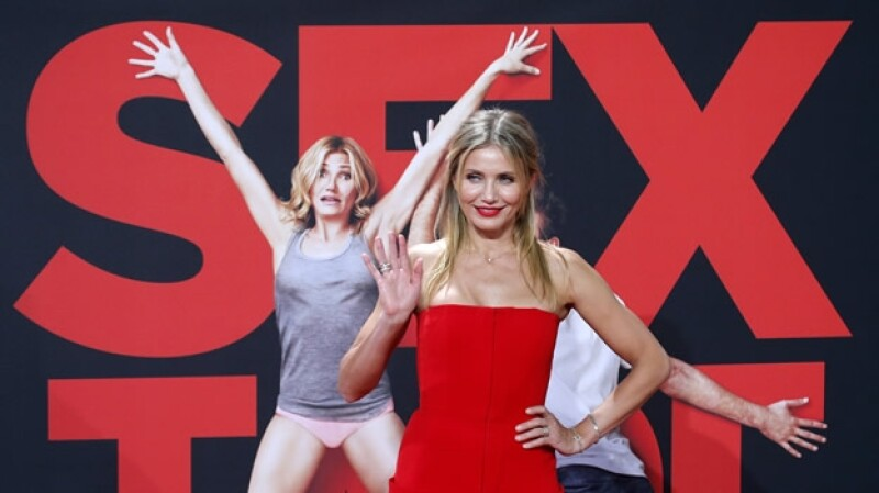 Cameron Diaz promocion Sex Tape