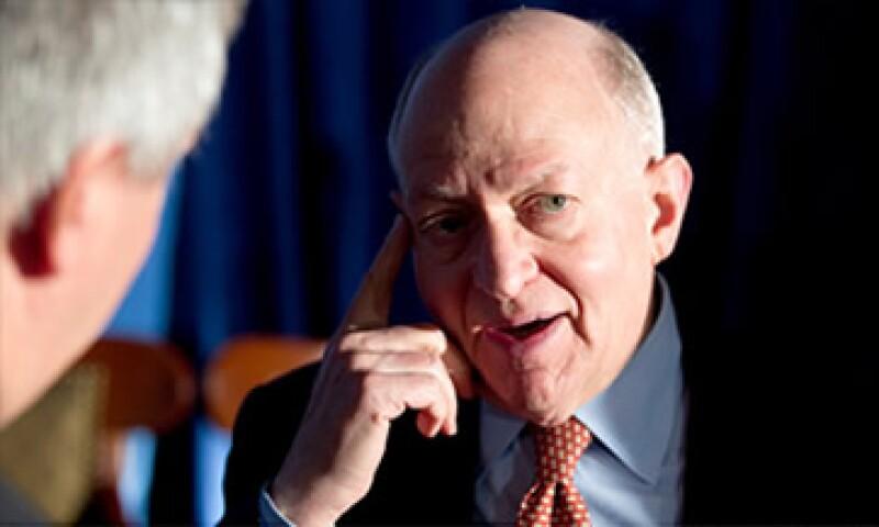 Martin Feldstein es asesor del candidato republicano Mitt Romney y fue asesor del expresidente Ronald Reagan.  (Foto: Cortesía CNNMoney)