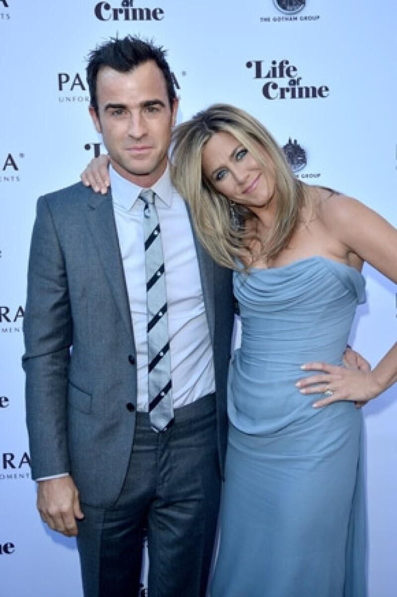 Debido a la carga de trabajo de la actriz, ella y su prometido Justin Theroux han decidido que será hasta el próximo año cuando lleguen al altar.