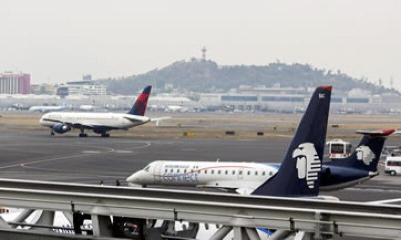 Aeroméxico tuvo el 14.5% del mercado internacional. (Foto: Cuartoscuro)
