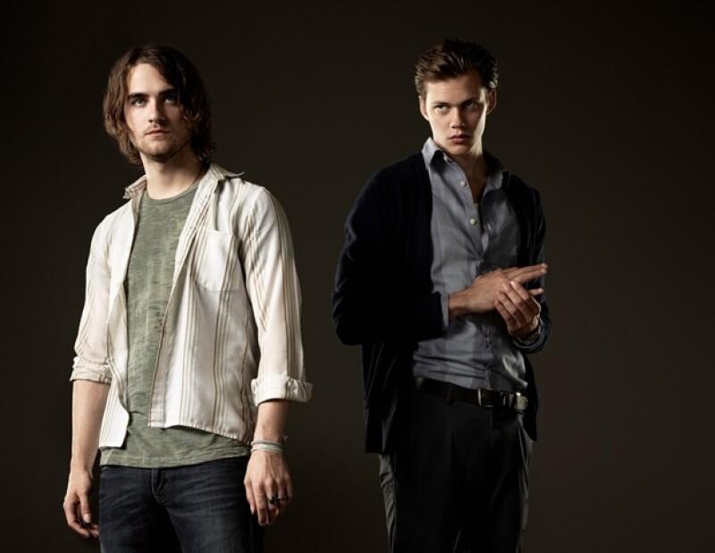 Bill Skarsgard y Landon Liboiron llegaron a quitarle sus lugares a Robert Pattinson y Taylor Lautner como los vampiros y hombres lobos más sexys del pop culture.