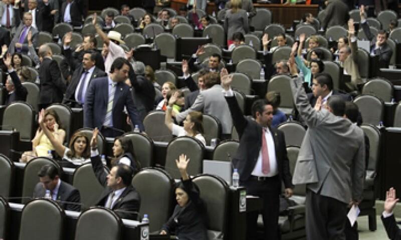 En lo general, la minuta fue aprobada por 409 votos a favor, 32 en contra y dos abstenciones. (Foto: Notimex)