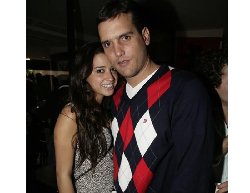 María Couttolenc y Jorge Emilio González.