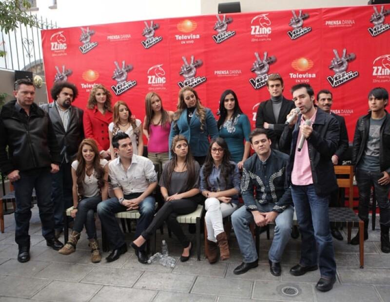 Varios de los expulsados de La Voz México participarán en la gira que realizarán en el interior de la República.