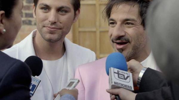 Miguel Rodarte y Renato López
