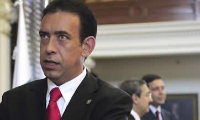 Humberto Moreira renunció a la presidencia nacional del PRI el 2 de diciembre de 2011. (Foto: AP)
