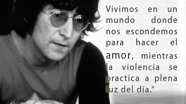 Hace 35 años el ex Beatle fue asesinado, sin embargo nunca ha sido olvidado, dejó como herencia no sólo sus canciones, sino frases que perduran.
