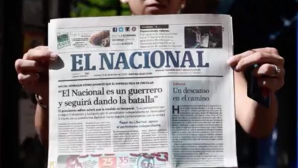 Este viernes se imprimió por última vez el periódico El Nacional de Venezuela