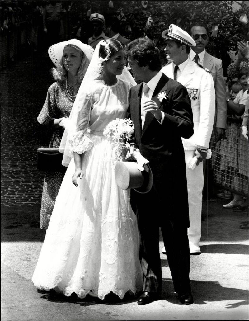 The Wedding Of Princess Caroline Of Monaco And Phillipe Junot (divorced 10/1980)