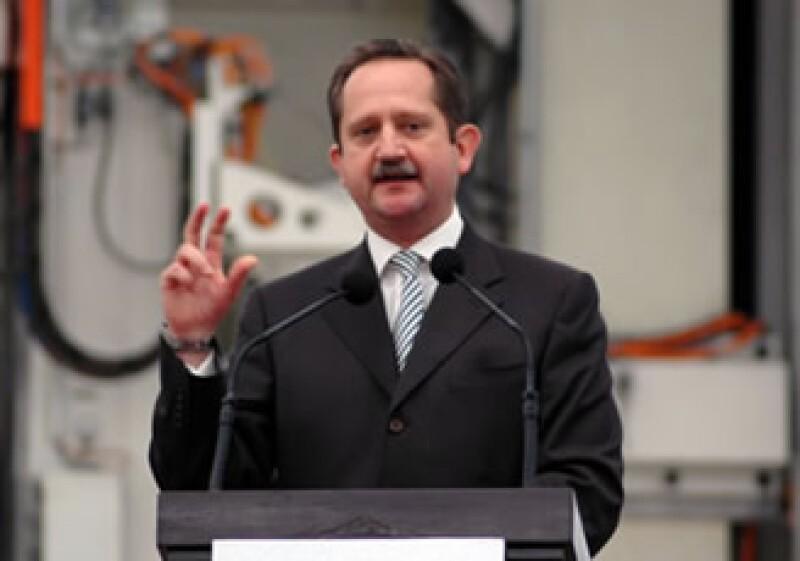 Eduardo Serrano Berry, presidente y director general de Ford de México. (Foto: Autocosmos)