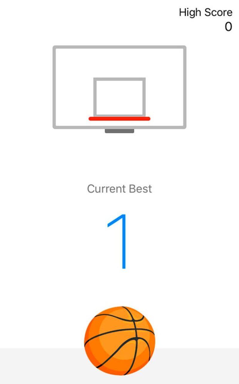 Facebook Messenger tiene un juego de básquet escondido dentro de la app de mensajería y resulta ser, como muchos juegos, bastante adictivo.
