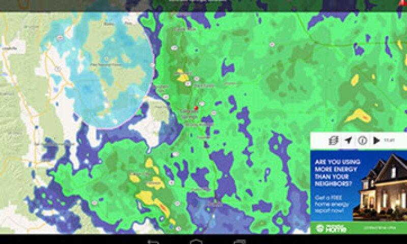 Algunas apps incluyen radar meteorológico en tiempo real. (Foto: Google Play )