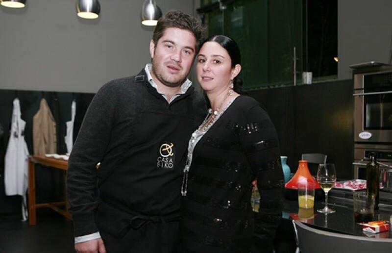 José Arizta y Andrea de la Graza.