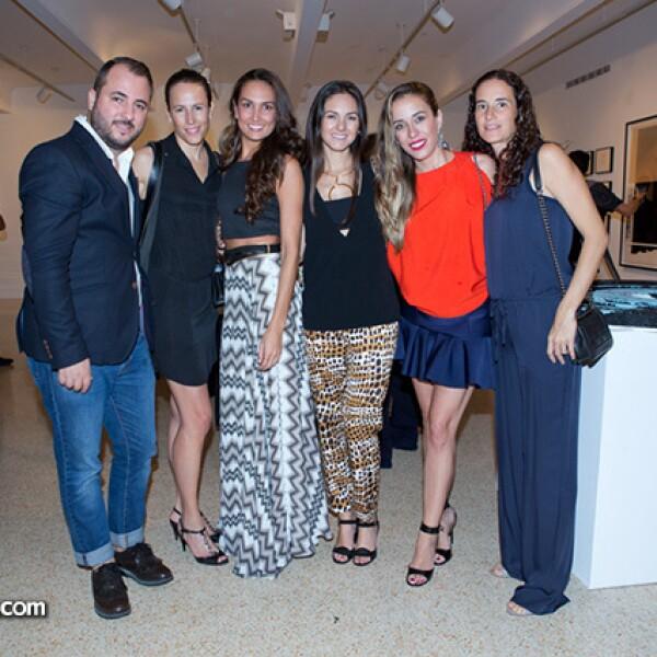 Victoe Martínez,Sofía Saracho,Irma Gómez,Brenda,Dóaz de la Vega,Brenda Lobeira y María José Saracho