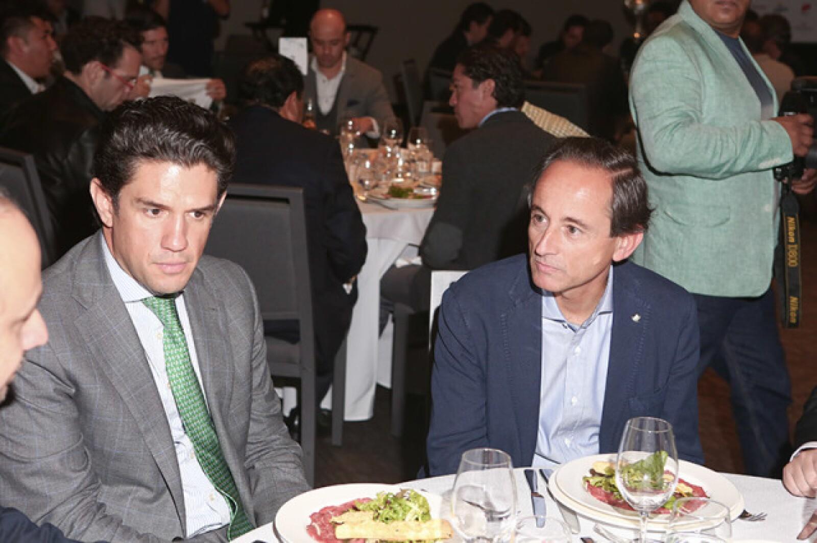 Alejandro Irarragorri y Eduardo Tricio