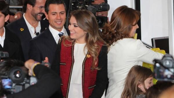 La hija de Angélica Rivera viajará en el verano a España para estudiar, solamente durante tres semanas, un curso de actuación.