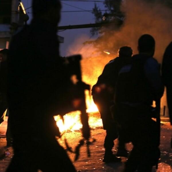 operativo de la policia en las favelas de brasil