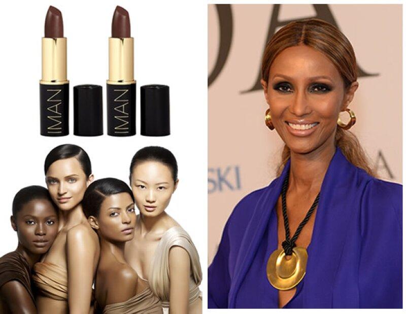 IMAN Cosmetics representa distintas razas, culturas y etnias.