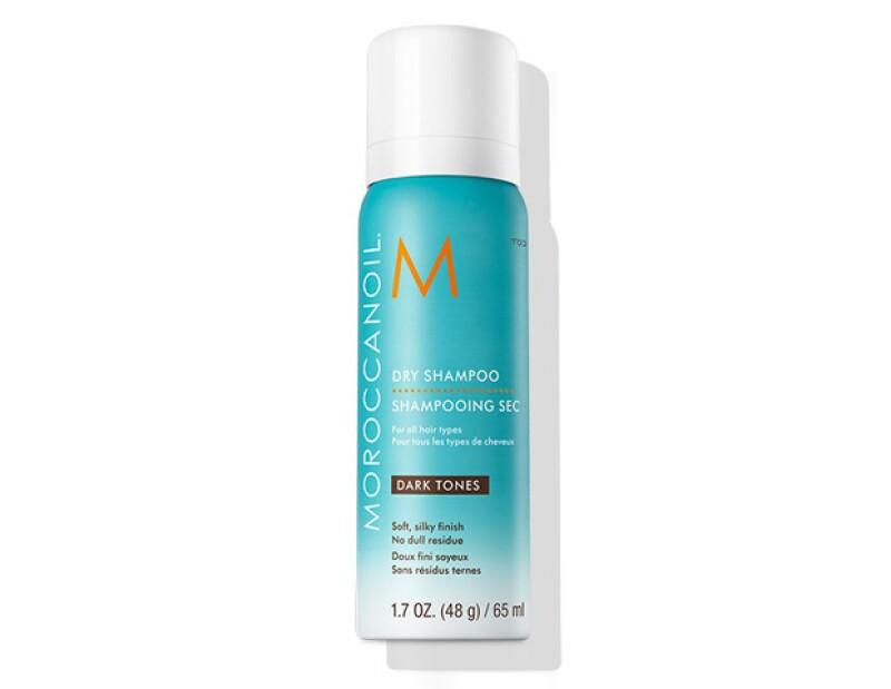 El shampoo en seco es una excelente opción si no tienes tiempo de lavarte el pelo y secártelo todos los días.