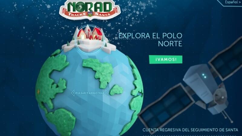 NORAD santa recorrido