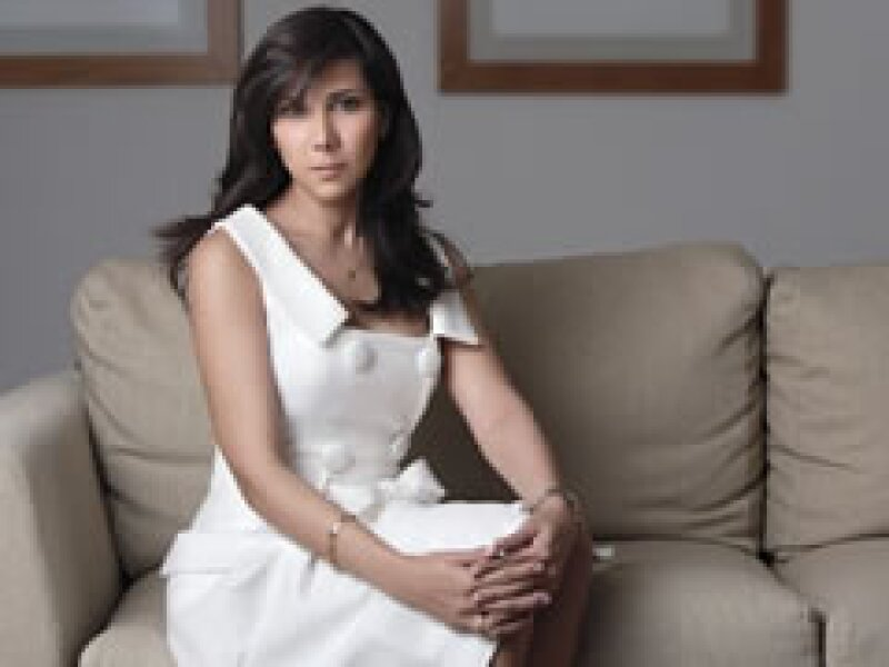 La viuda de Mouriño, Marigely, concedió su primera entrevista a la revista Quién. (Foto: Uriel Santana)