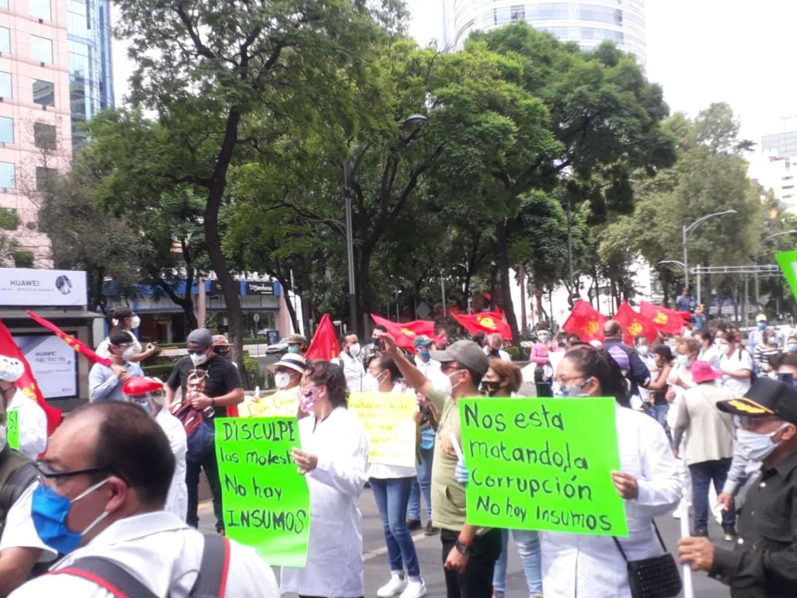 protesta salud