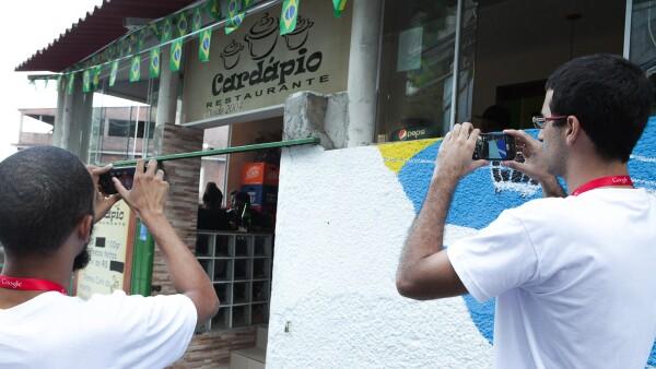 El proyecto Tá no Mapa tiene el reto de enfrentar la violencia y crimen de las favelas en Río de Janiero para integrarlas al mundo digital.