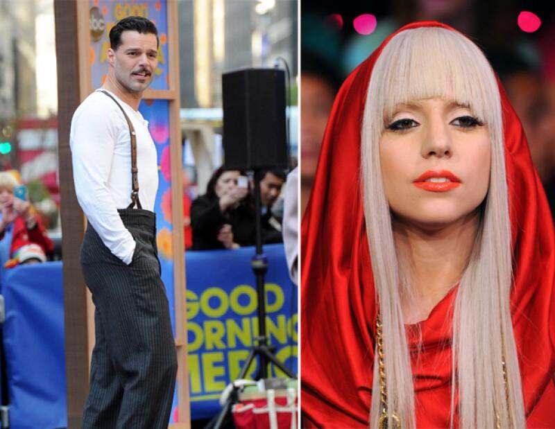 Ricky Martín y Lady Gaga apoyaron al miembro de la realeza, sobre sus polémicas fotografías donde aparece desnudo en una fiesta en Las Vegas.