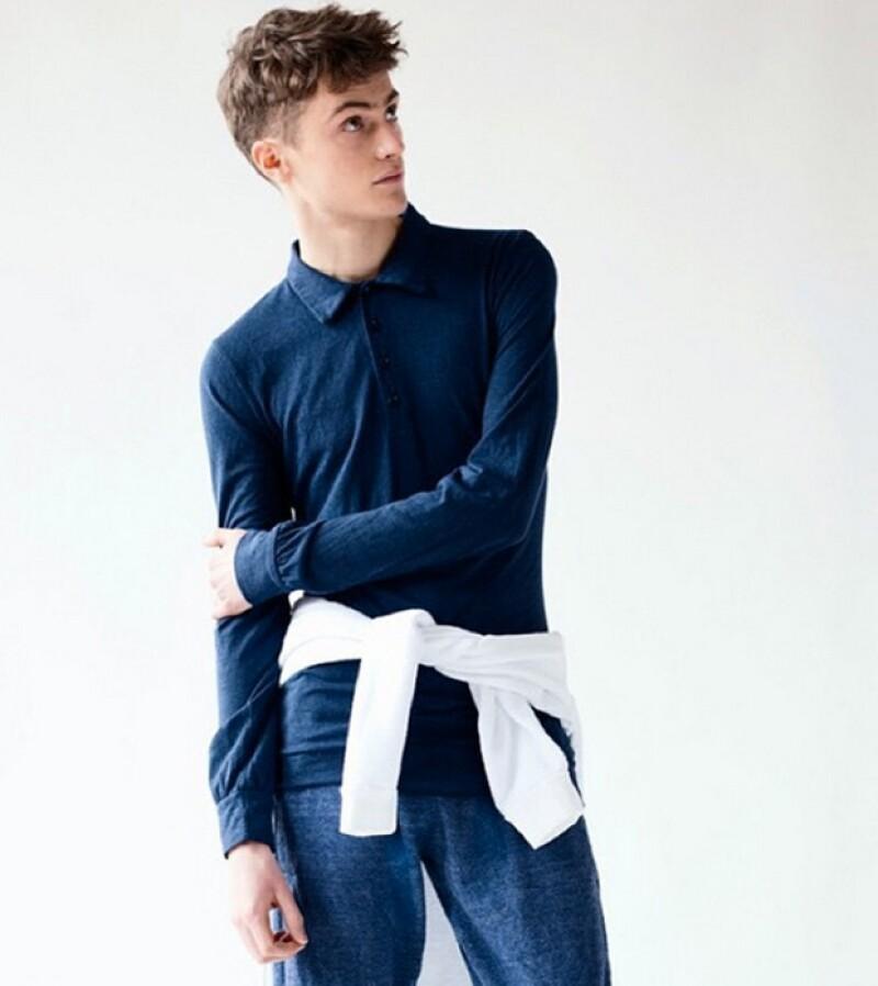 El italiano Pietro Boselli no es el único en alternar su carrera como profesor con la de modelo, pues este maestro de Nueva York ha desfilado para grandes marcas.