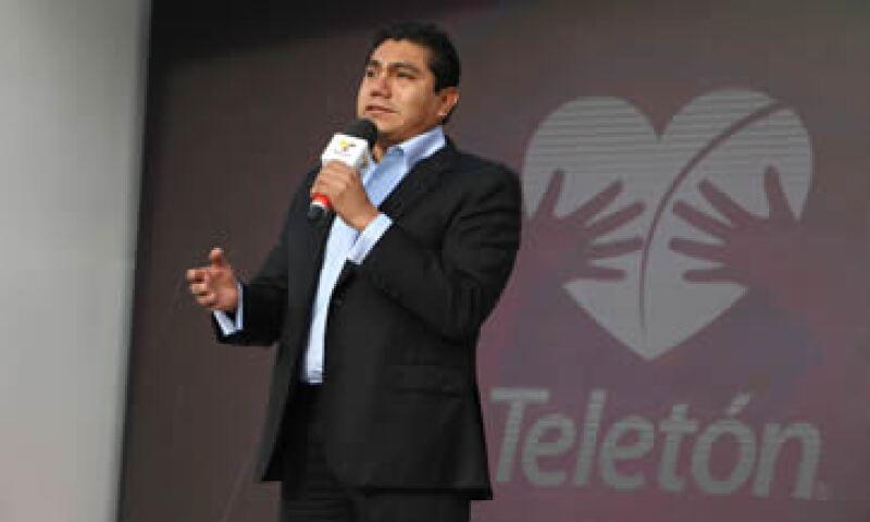 Jorge Luis Preciado contiende por segunda vez a la gubernatura de Colima, que se resolverá en enero. (Foto: Cuartoscuro )
