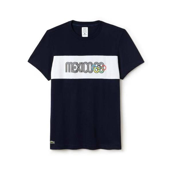T-shirt negra México 68