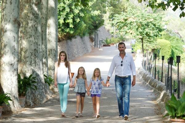 Spanish Royals visit La Granja in Mallorca