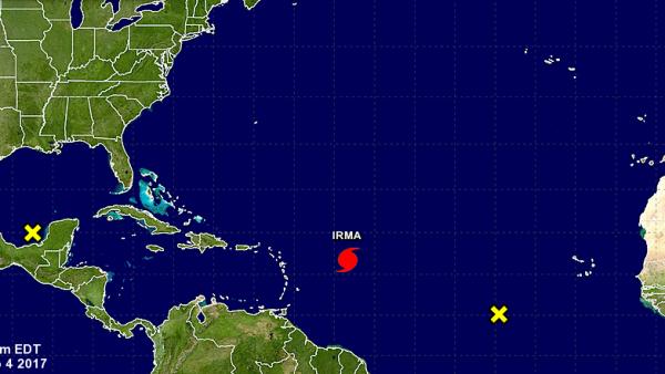 El huracán Irma es la nueva amenaza para Estados Unidos y el Caribe