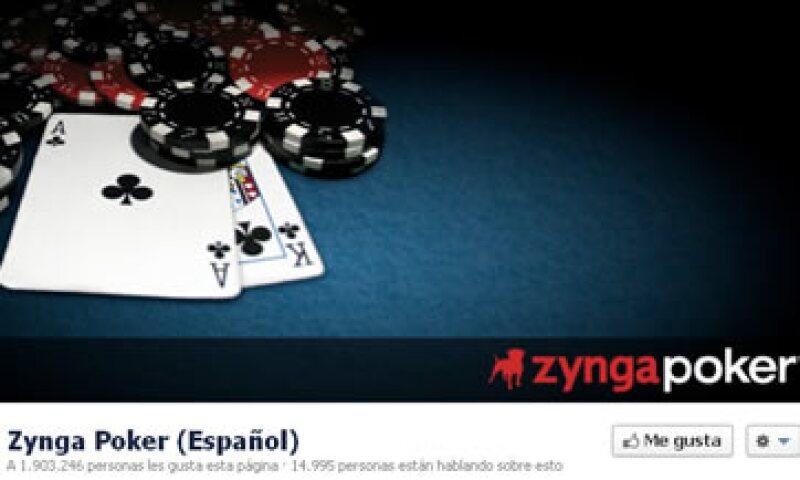 El juego de póquer incluye chips virtuales y genera una fracción de los ingresos de Zynga. (Foto: Tomada de Facebook)