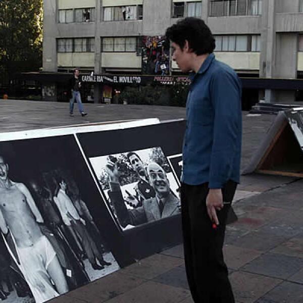 Varios actos recordaron el viernes la matanza de estudiantes del 2 de octubre de 1968 en Tlatelolco, entre ellos una exposición de fotografías en la Plaza de las Tres Culturas.