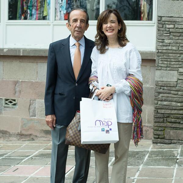 Manuel Arango y Juana Cuevas