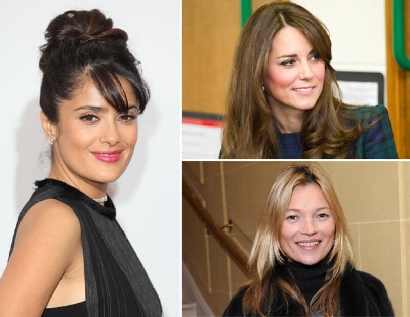 La actriz mexicana confesó que le gusta cómo visten Kate Middleton y la modelo Kate Mosss.