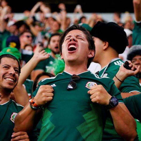 Mexicanos en el Mundial de Rusia 2018.