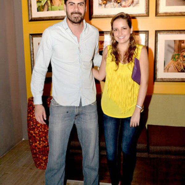 Hugo Izaguirre y Valeria Cima