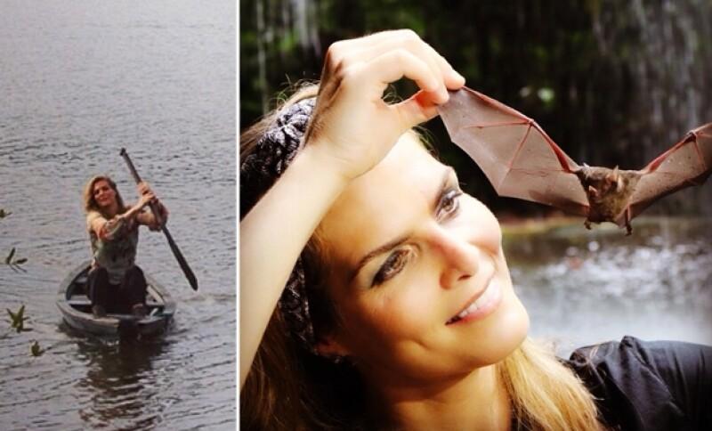 La regiomontana es fan de los viajes de turismo ecológico.