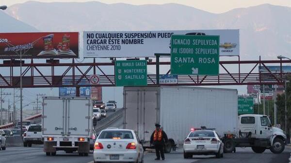 Tráfico en Monterrey