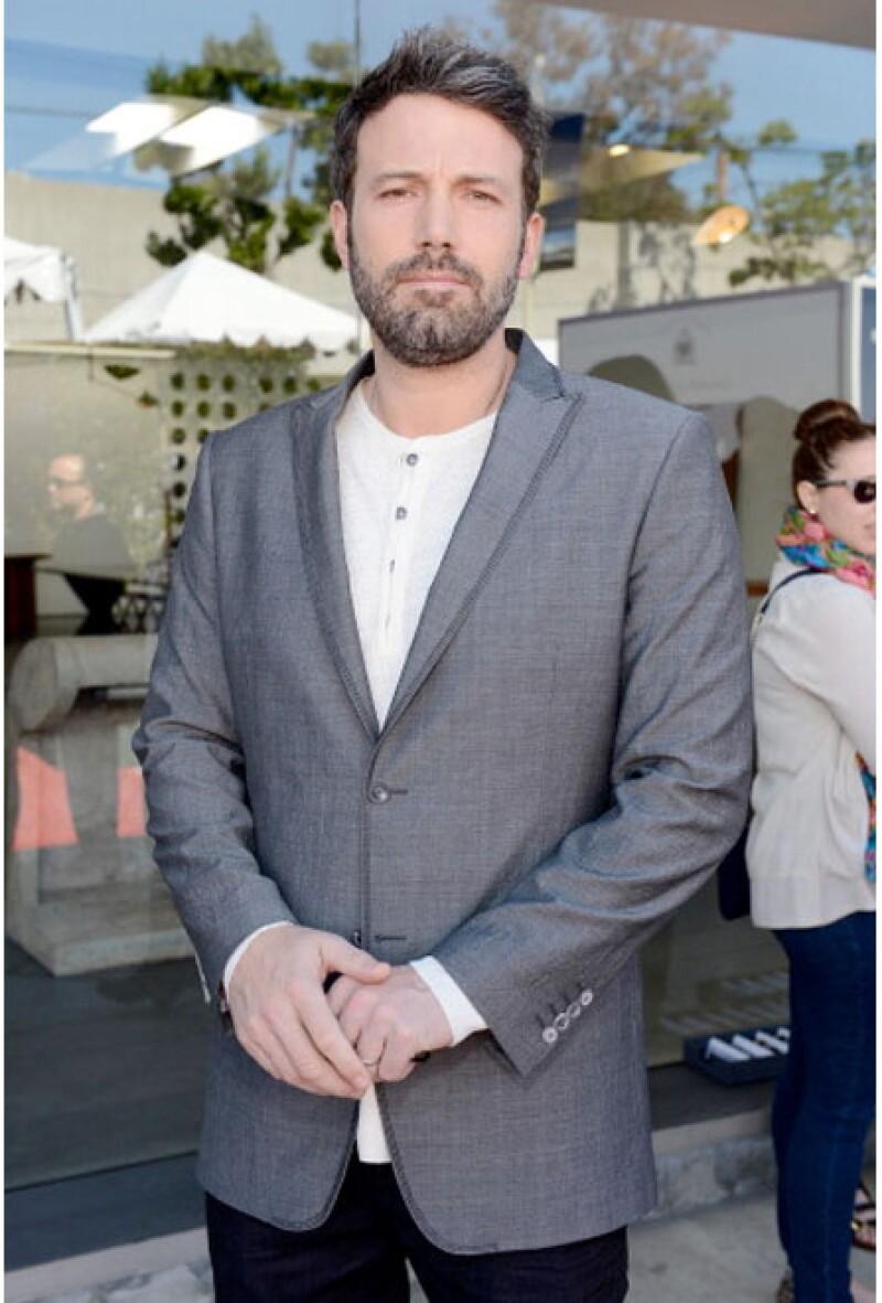Ben Affleck tiene un estilo urbano y cool.