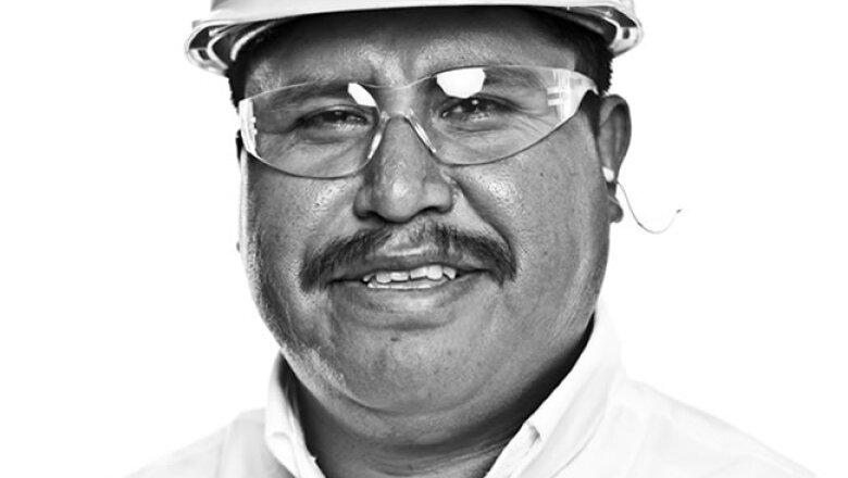 RETRATO, Biopappel, Juan Miguel Quinto Mart�nez, Montacarguista de u�a, 2 a�os en la empresa.