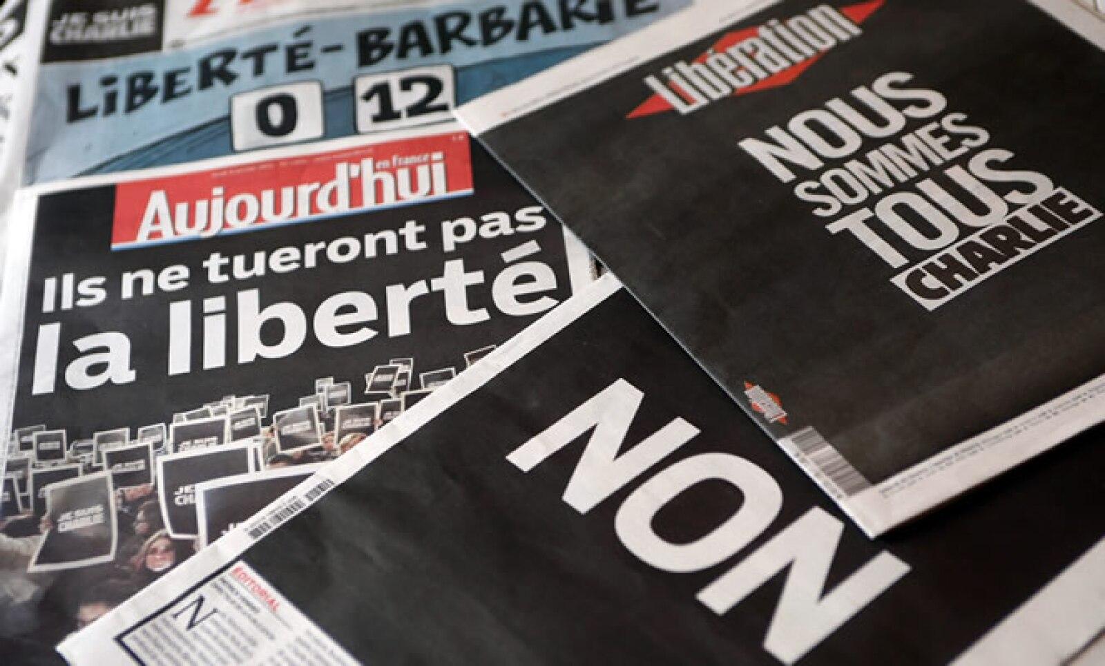 Periódicos franceses y árabes condenaron el ataque.