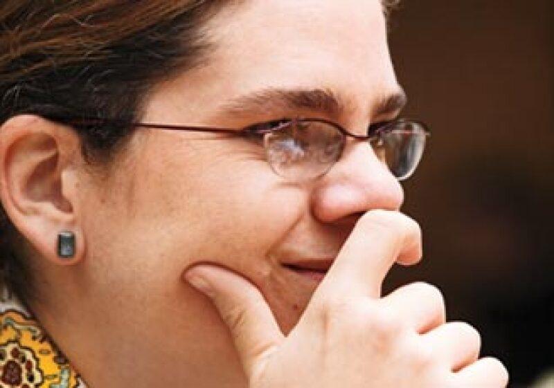 Gabriela Estrada es Maestra en Estudios Urbanos por El Colegio de México y candidata a doctora en Urbanismo por el Instituto de Urbanismo de París. Además, es catedrática de la Universidad Iberoamericana.  (Foto: Adán Gutiérrez)